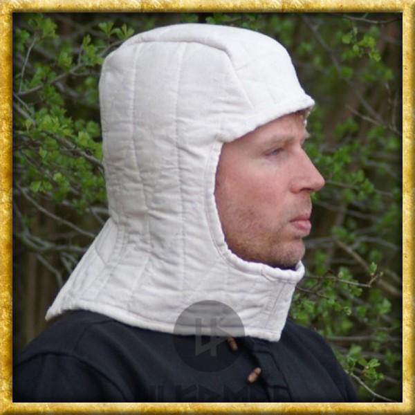 Gepolsterte Kopfhaube - Natur