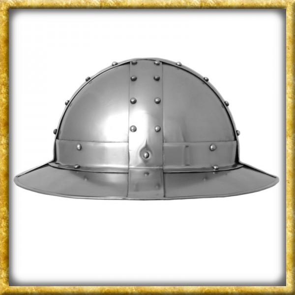 Eisenhut mit Bändern - 14. Jahrhundert