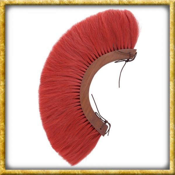 Römischer Helmbusch Holz Crista - Rot