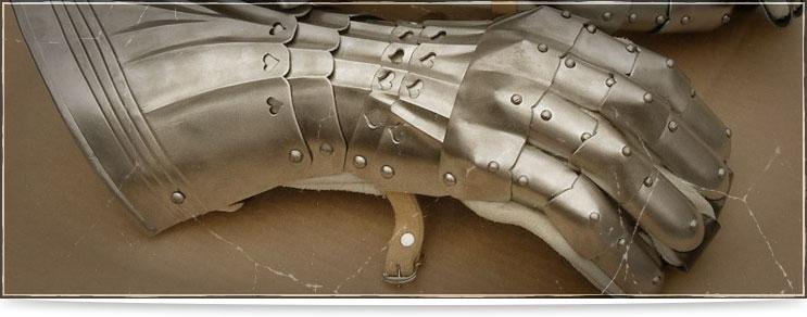 Waffenmeister | Armschützer, Handschuhe und Schulterplatten