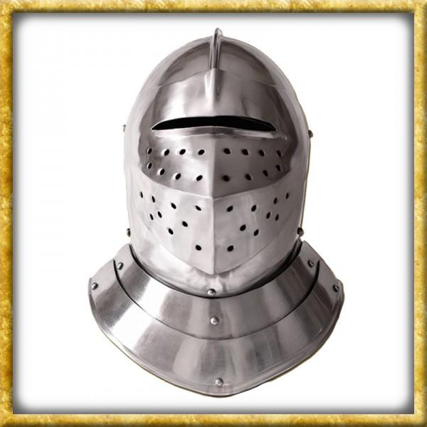Geschlossener Helm im englischen Stil - 16.Jahrhundert