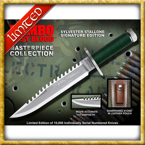 Rambo - First Blood Messer Stallone Edition