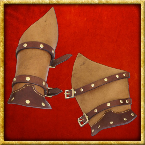 Lederarmschienen - Warrior