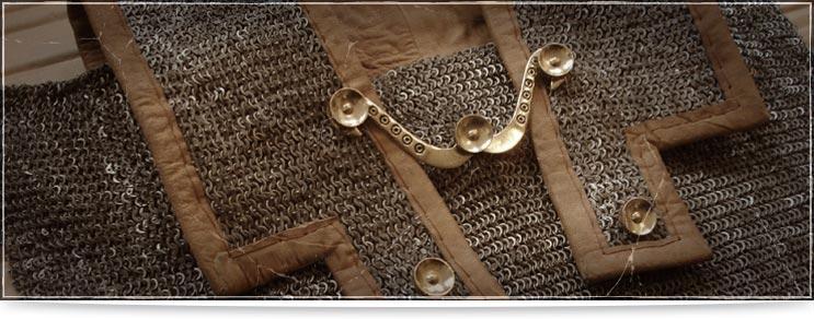 Waffenmeister | Kettenrüstungen römisches Geflecht