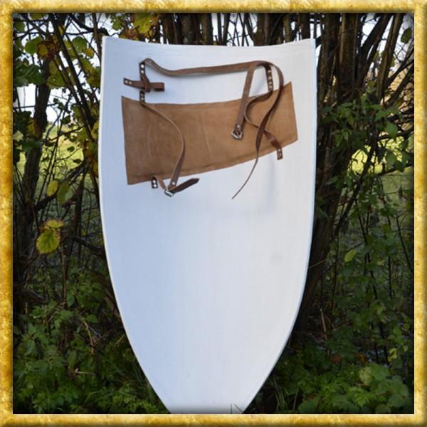 Grosser Wappenschild aus Holz - Rohling zum Bemalen