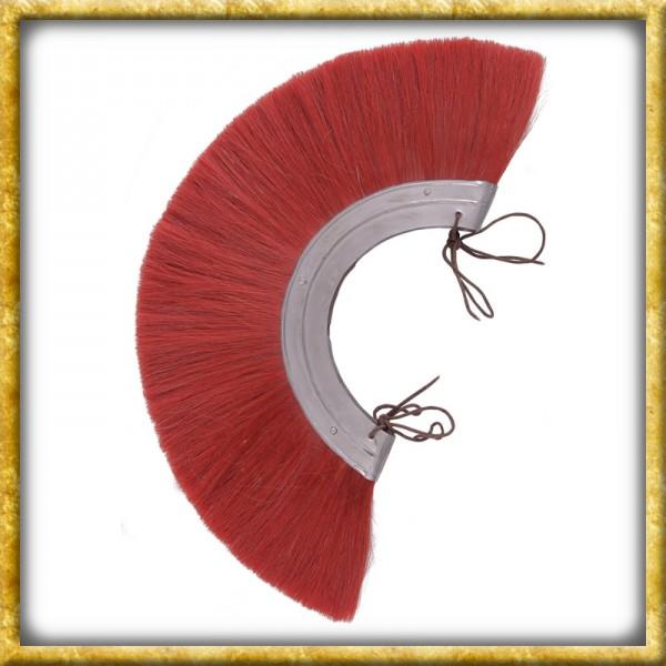 Römischer Helmbusch Metall Crista - Rot
