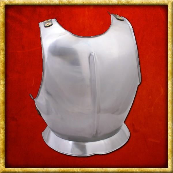 Brustpanzer mit Rückentrageriemen - Platte