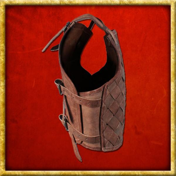 Lederrüstung Viking - Braun