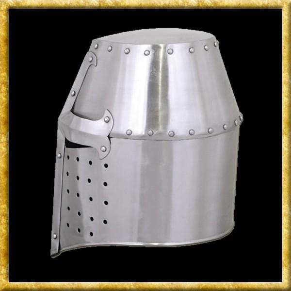 Topfhelm - 13. Jahrhundert