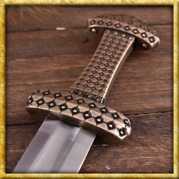 Wikingerschwert mit Bronzegriff