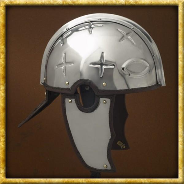 Spätrömischer Centurion Helm - Intercisa II