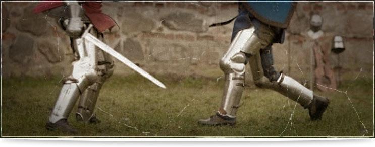 Waffenmeister | Beinschienen aus Platte
