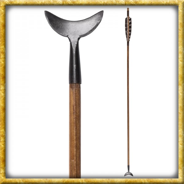 Mittelalterlicher Pfeil mit Seilschneider - 30 Zoll