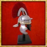 Römischer Offiziershelm mit Helmbusch