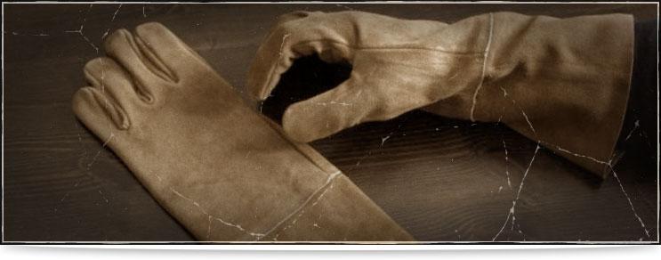Waffenmeister | Handschuhe aus Leder