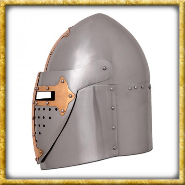 Topfhelm - 14. Jahrhundert