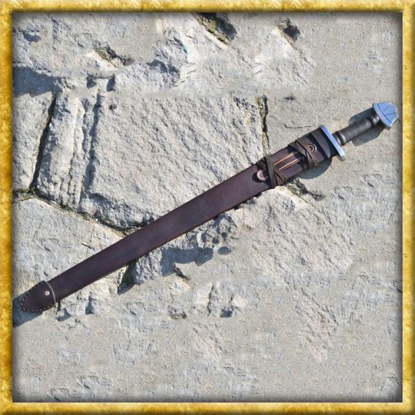 Wikinger Schwertscheide aus Leder - Nach Mass