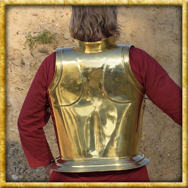 Griechischer Brust und Rückenpanzer - Platte