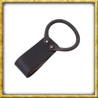 Gürtelhalter für Axt mit geschmiedetem Ring