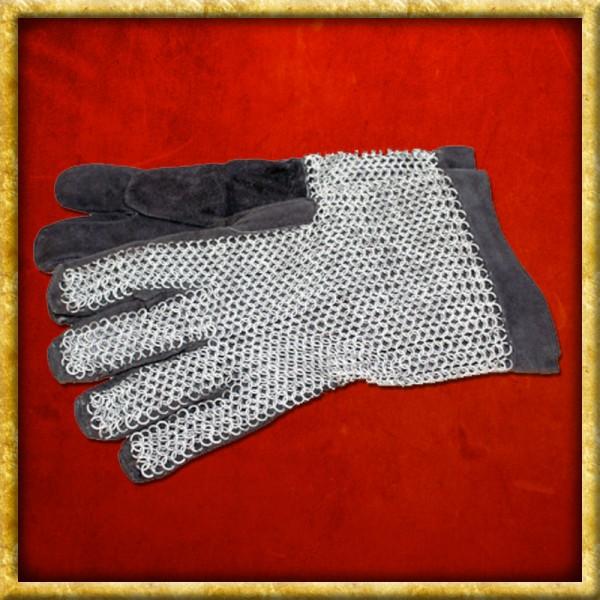 Fingerhandschuhe mit Kettengeflecht