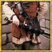 Schwerthalter Pirat - Schwarz
