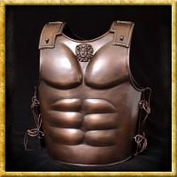 Spartanischer Muskelpanzer - Platte