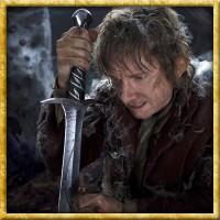 Der Hobbit - Bilbos Schwert Stich