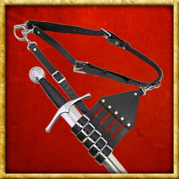 Gürtel mit Halterung für Säbel & Schwerter