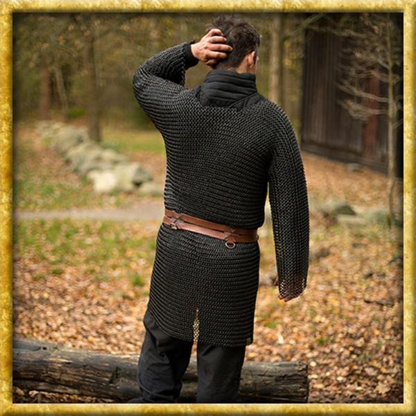 Kettenhemd Alaric Epic Black - Unvernieteter Stahl