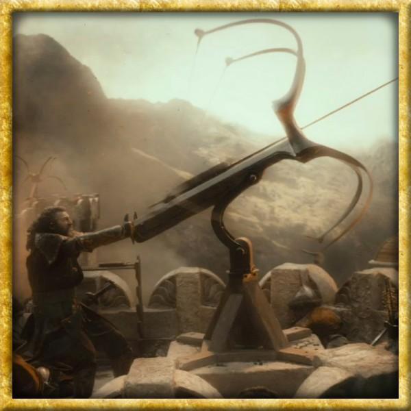 Der Hobbit - Schwarzer Pfeil von Bard dem Bogenschützen