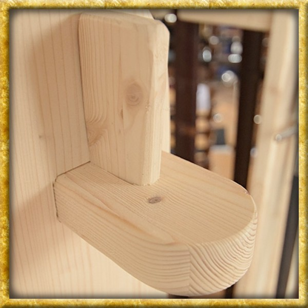 Waffenständer aus Holz