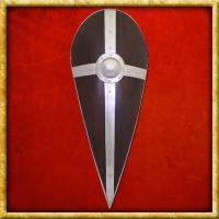 Normannenschild mit Kreuz