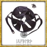 Helm Inlet aus Leder