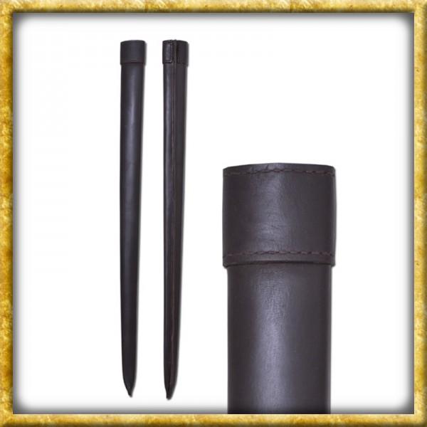 Lederscheide für Schaukampfschwerter - Braun