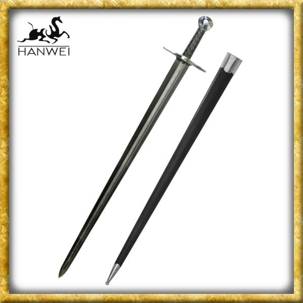 Schwert Sir William Marshall Damast - Geschliffen