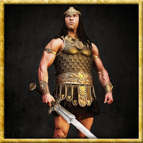 Conan der Barbar - Brustplatte, Krone & Tunika