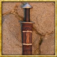 Edle Wikinger Schwertscheide aus Leder - Nach Mass