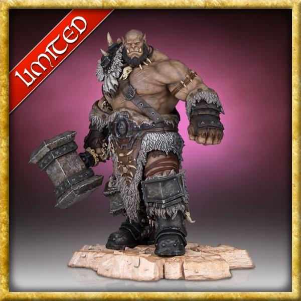 Warcraft - Statue Orgrim 33 cm