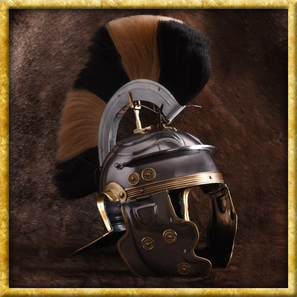 Römerhelm Weisenau aus Stahl Imperial Gallic G