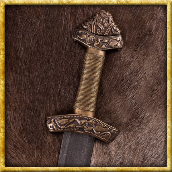 Wikingerschwert aus Dybäck - Damast