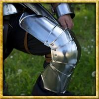 Gotische Beinschienen - Platte