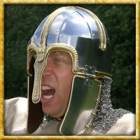 Helm unvernietete Kettenbrünne - Coppergate