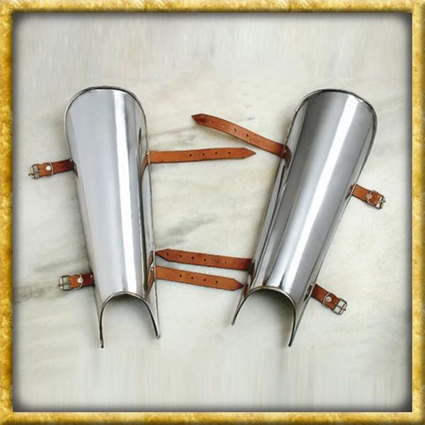 Beinschienen 2mm Stahl - Platte