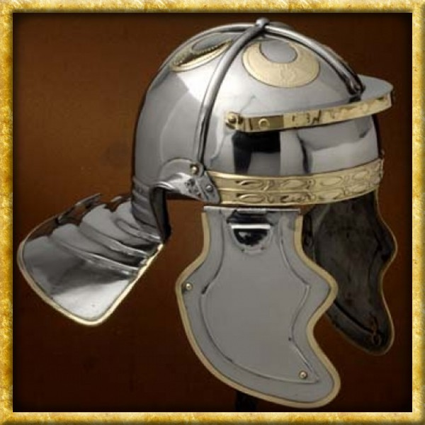 Römischer Helm Imperial Gallic G Hebron