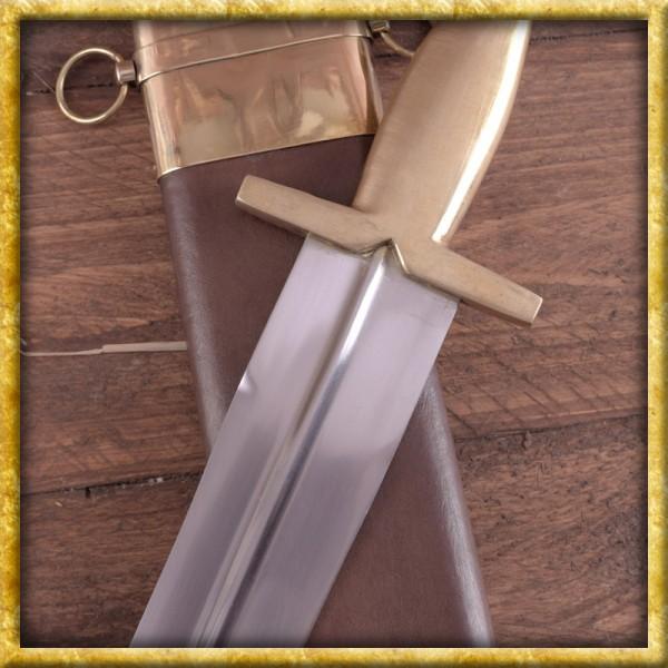 Griechisches Hoplitenschwert mit Scheide