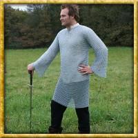 Langarmiges Kettenhemd - Verzinkt