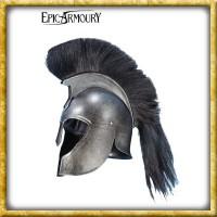 Trojanischer Helm mit Helmbusch