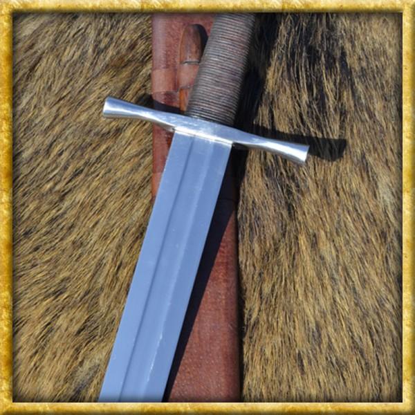 Kreuzritterschwert mit Achteckknauf für Schaukampf
