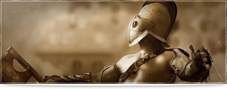 Waffenmeister | Helme der Gladiatoren