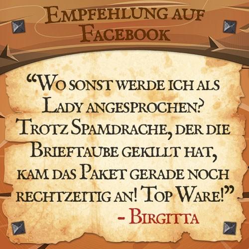 Facebook Bewertung Brigitta Drachenhort